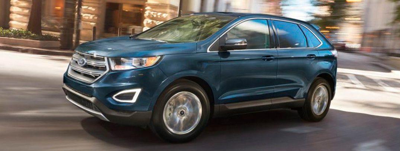Ford Edge Interior Legroom