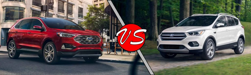 Ford Edge Vs Escape >> The 2019 Ford Edge Vs The 2019 Ford Escape Wade Ford Blog